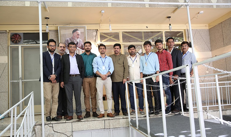 A group of Indian reporters visit Imam Khomeini's historic residence in Jamaran