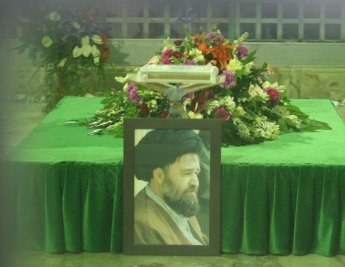 Imam Khomeini`s deep love and trust towards his beloved son, Ahmad