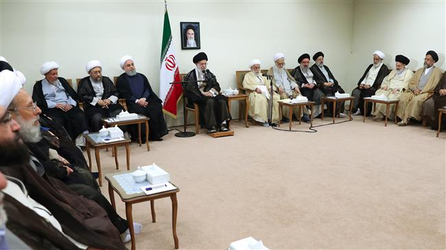 Leader says enemies waging economic, media war on Iran to disappoint nation