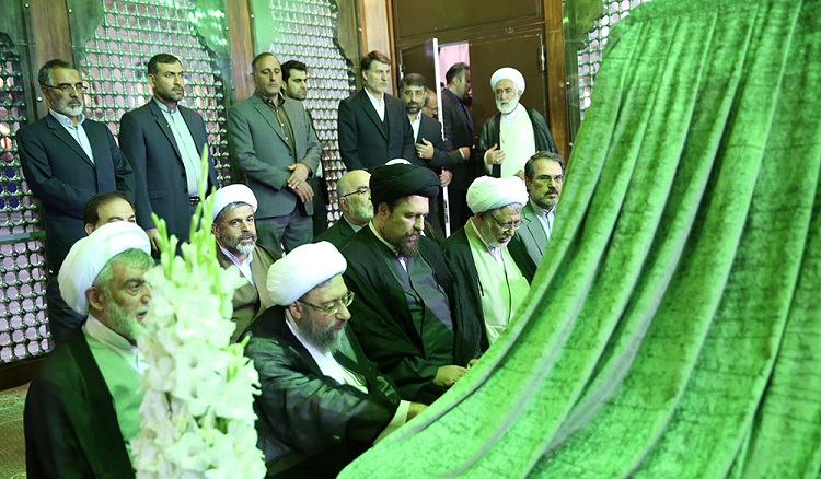 High judicial officials pledge allegiance to Imam Khomeini's ideals