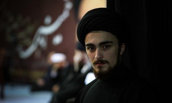 Ahmad Khomeini, son of Hassan Khomeini