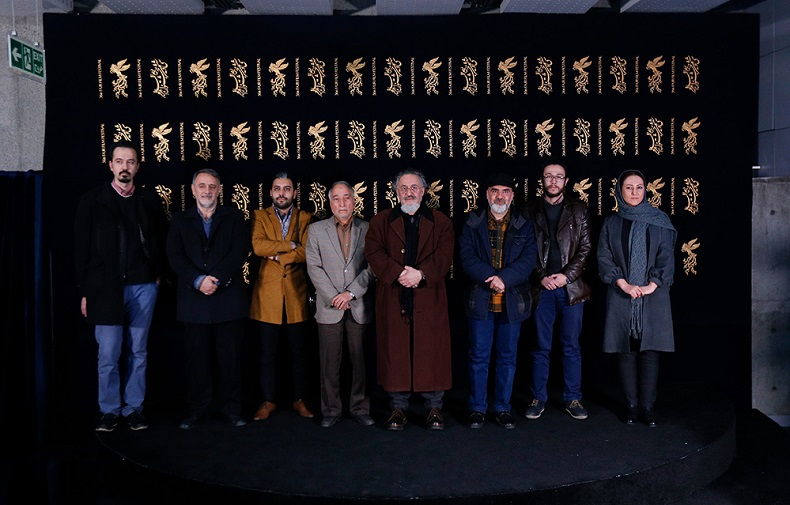 "A gathering discusses documentary film ""Lady Ghods-i-Iran"" with presence of contributors and media men at the 36th Fajr International Film Festival"