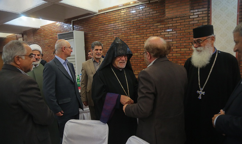 Armenian Archbishop organizes Iftar Feast on the occasion of the commemoration of Imam Khomeini