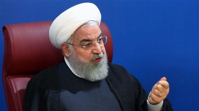 President Rouhani says Iran will break US sanctions