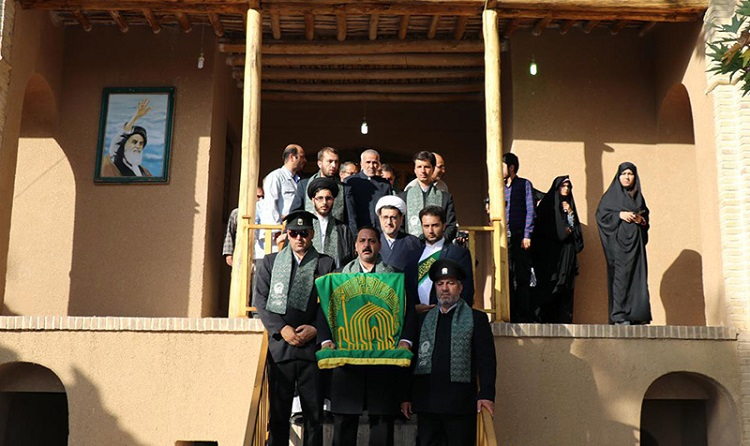 'Under the Sun shadow' convoy visits Imam's historic house in city of Khomein