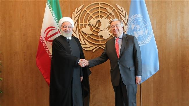 Rouhani slams the US's withdrawal from the 2015 multilateral nuclear deal