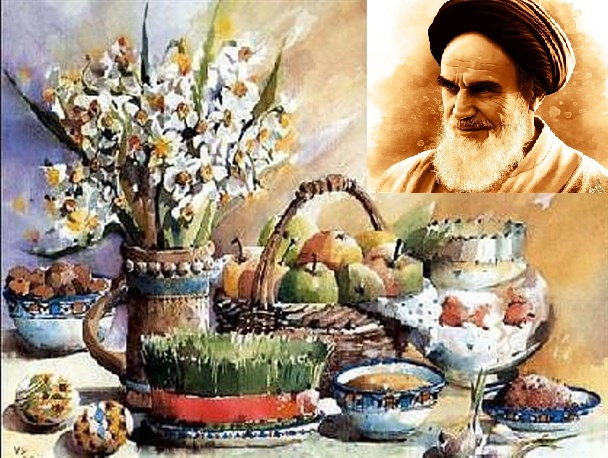 Imam Khomeini highlighted significance of Nouwruz, an event for blossom of nature and soul perfection