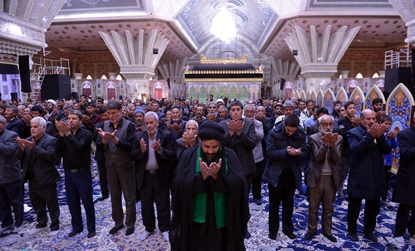 Mourning ceremony at Imam Khomeini's shrine on occasion of Arba'een which marks 40 days since the martyrdom anniversary of Imam Hussein (PBUH)