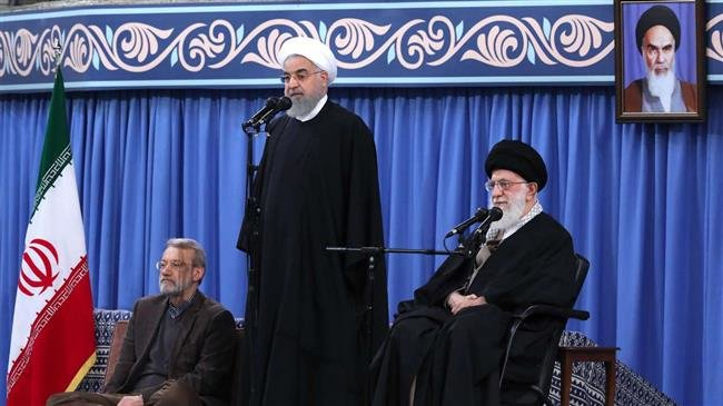 President Rouhani says enemies want Iran to ignore atrocities