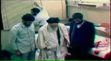 Rouhullah Khomeini never stopped praying until last breath