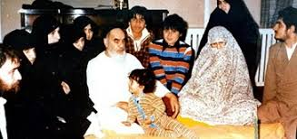How do relatives, friends recall about Imam Khomeini's family life?