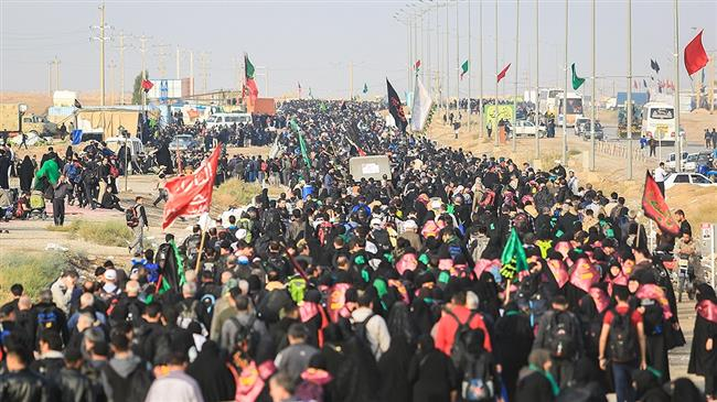 Millions of pilgrims from across world converging on  holy Iraqi city of Karbala