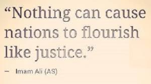 Imam Ali (PBUH), an eternal appearance of absolute justice