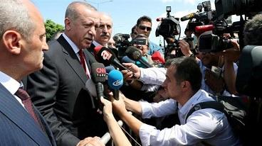 President Erdogan warns Turkey's partnership with US in jeopardy