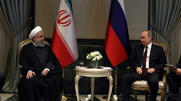 President Rouhani says Iran-Russia ties serve regional, global peace