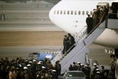 Imam Khomeini returns Iran after 15 years of exile