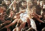 Bidding farewell of Imam Khomeini towards eternal resting place