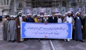 The Covenant of the Supreme Council, Management and preachers of Tehran`s Seminary pledge allegiance with the Imam Khomeini`s Ideas