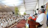 Iranian pilgrims seek disdain from idolaters and chant slogans against world bullying powers including US and Israel