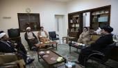 Islamic scholars from Europe's Shia Council meet Seyyed Hassan Khomeini