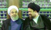 Iranian President Hassan Rouhani and his cabinet members visit Imam Khomeini's shrine to pledge allegiance with ideals of the late founder of the Islamic Republic