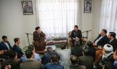 Social media activists meet Seyyed Hassan Khomeini