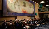 Ceremony to celebrate mid-Sh`aban at Hosseiniah Jamaran