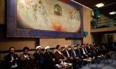 Ceremony to celebrate mid-Sh`aban at Hosseiniah Jamaran