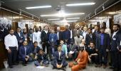 Participants of International Quranic competition visit Imam Khomeini's residence in Jamaran