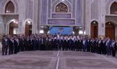 People from various walks of life pledge allegiance to Imam Khomeini's ideals