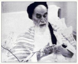 The moment when heart-beating of Imam Khomeini stopped