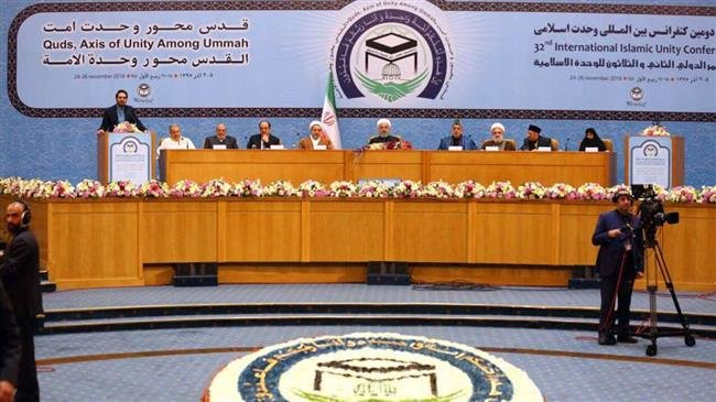 President Rouhani calls on Muslim nations to unite against hostile policies of  US and Israel