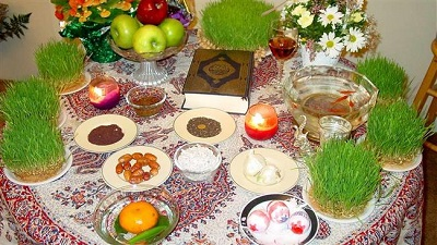 What wish did Imam Khomeini used to make on New Persian year?