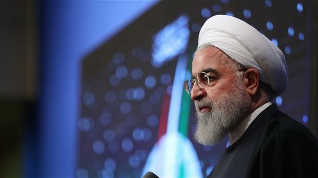 President  Rouhani says Iranian nation will not bow to bullies