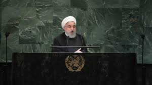 Iran`s President Rouhani tells US to leave region