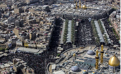 Massive processions underway in Karbala as millions mark Arba'een