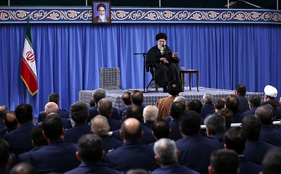 Leader says US `embodiment of evil, violence`