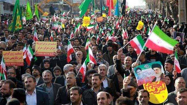 Iranians stage massive rallies in support of IRGC after US blacklisting