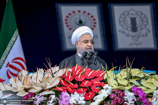 President Rouhani says Iran to defeat all US plots as Revolution thrives