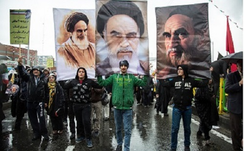 Iranians mark anniversary of Islamic Revolution with mass rallies