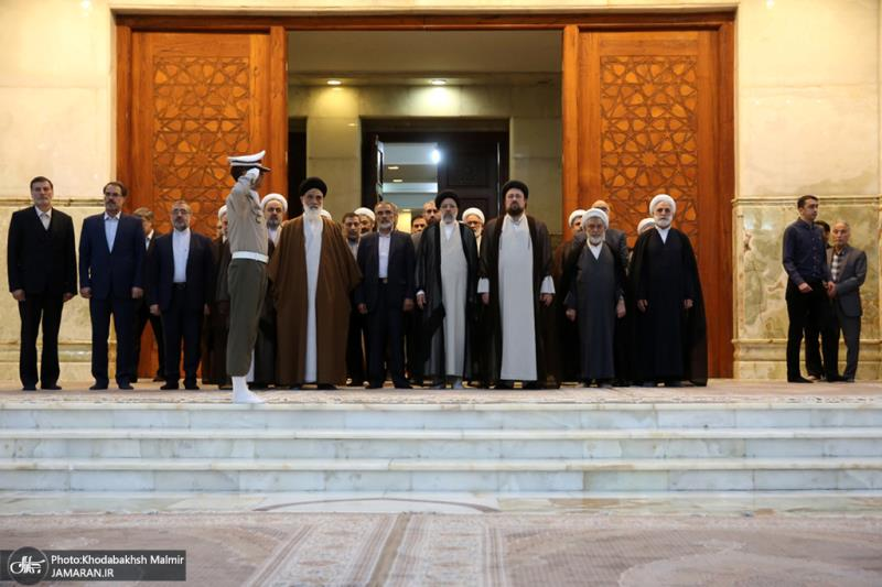 Judiciary chief and other high-ranking judicial officials pledge allegiance with ideals of Imam Khomeini
