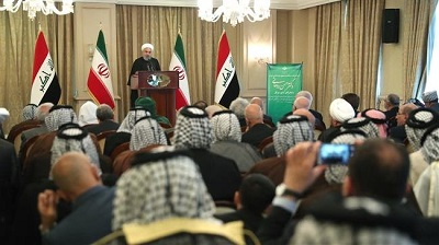 Iranian President Rouhani says US relocating terrorists from Mideast to Central Asia