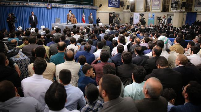 Leader says America`s move against IRGC rooted in rancor