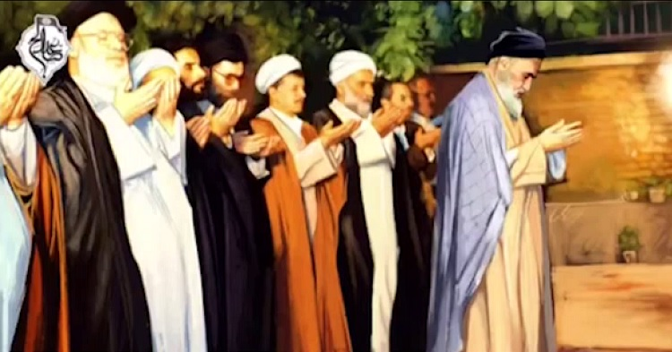 Imam Khomeini didn't miss his last prayers