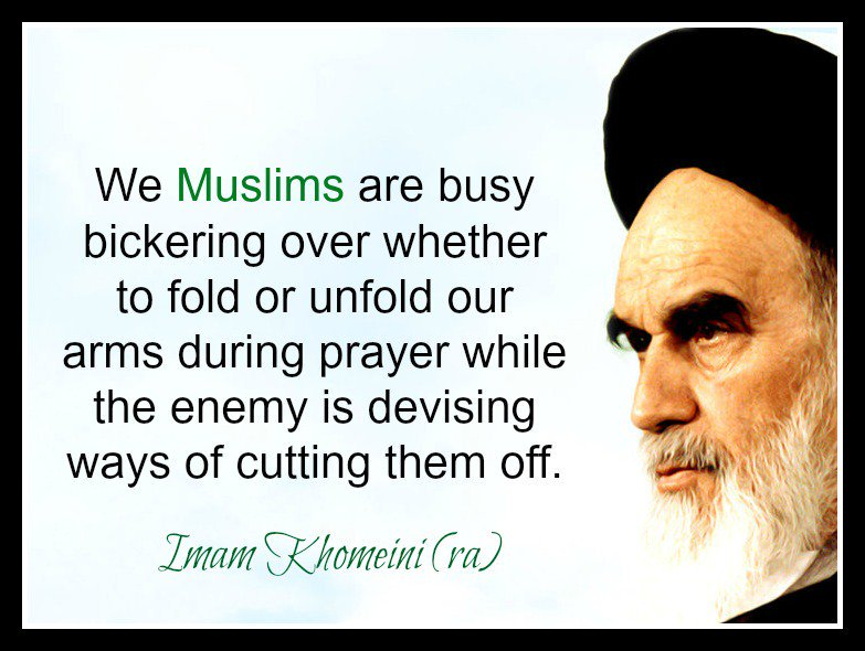 Imam Khomeini presented practical solutions to problems plaguing Muslims