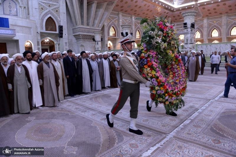 Clergymen and preachers of Hajj 2019 pledge allegiance with ideals of Imam Khomeini, the late founder of the Islamic Republic
