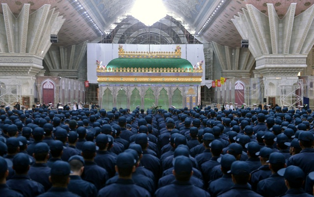 Students from Police University renew their allegiance with ideals of Imam Khomeini