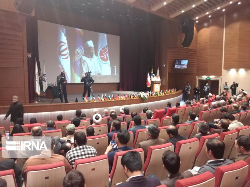 Some 180 prominent from dozens of countries attend international conference in Iranian city of  Damghan