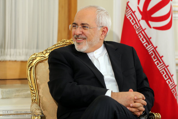 Iran FM wishes for world peace in year 2019