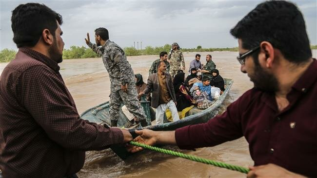 Iran armed forces, rescue teams step up flood relief efforts